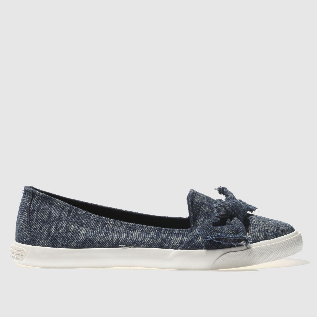 Rocket Dog Blue Clarita Flat Shoes