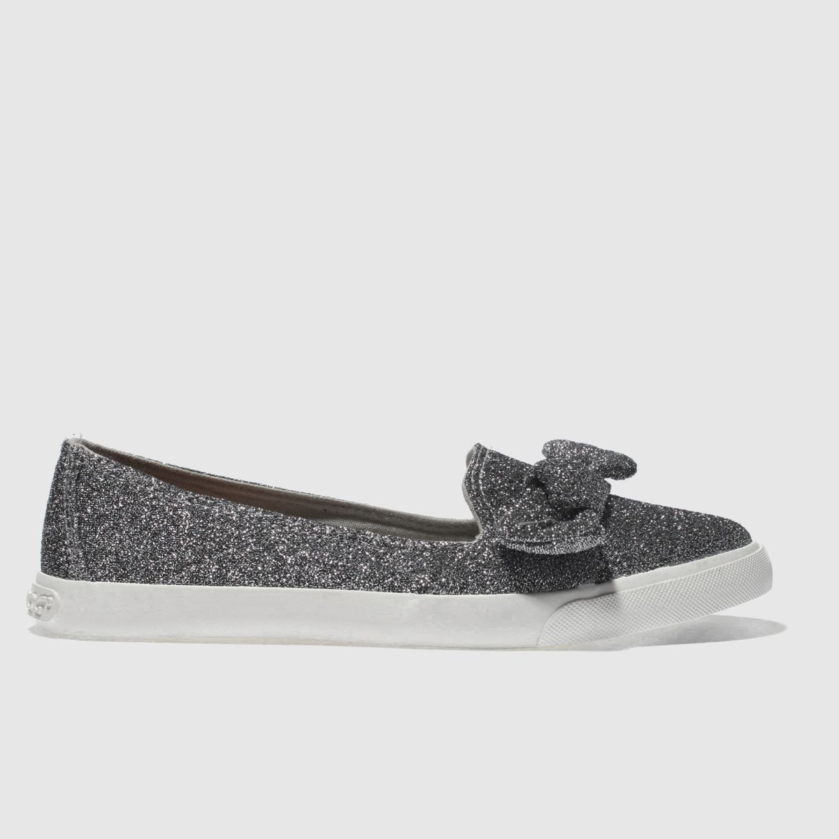 Rocket Dog Silver Clarita Flat Shoes