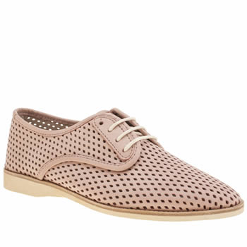 Rollie Nation Pale Pink Derby Punch Womens Flats