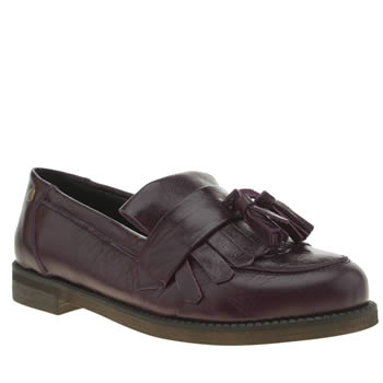 Red Or Dead Purple Marching Mary Flats