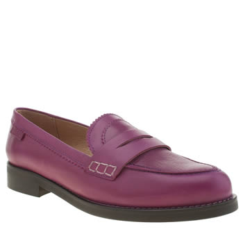 RED OR DEAD PURPLE WORKIN WENDY FLAT SHOES