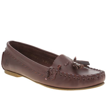 Womens Red Or Dead Burgundy Barbara Flats