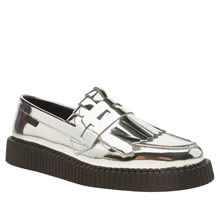 Red Or Dead Silver Southport Womens Flats