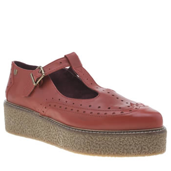 Red Or Dead Red Jessie Joe Flats