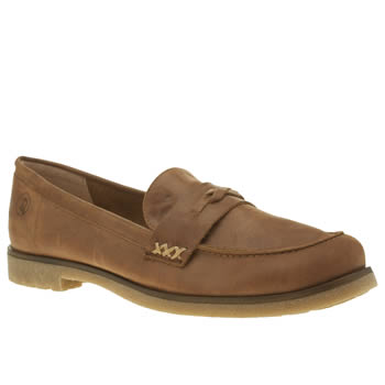 Red Or Dead Tan Mable Womens Flats