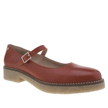 Red Or Dead Red Tessa Jane Womens Flats