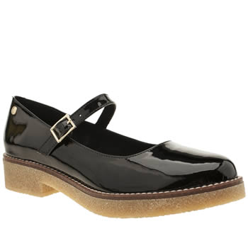 Red Or Dead Black Tessa Jane Womens Flats