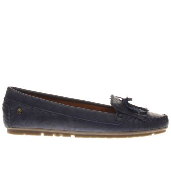 Red Or Dead Navy Snap Dragon Womens Flats