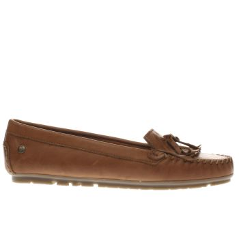 Red Or Dead Tan Snap Dragon Flats