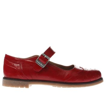 Red Or Dead Red Marybeth Womens Flats