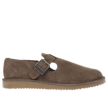 Red Or Dead Beige Shorna Womens Flats