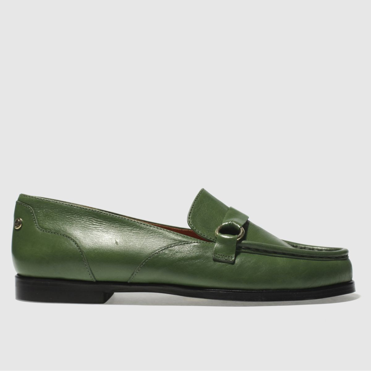 Red Or Dead Green Miss Bakewell Flat Shoes