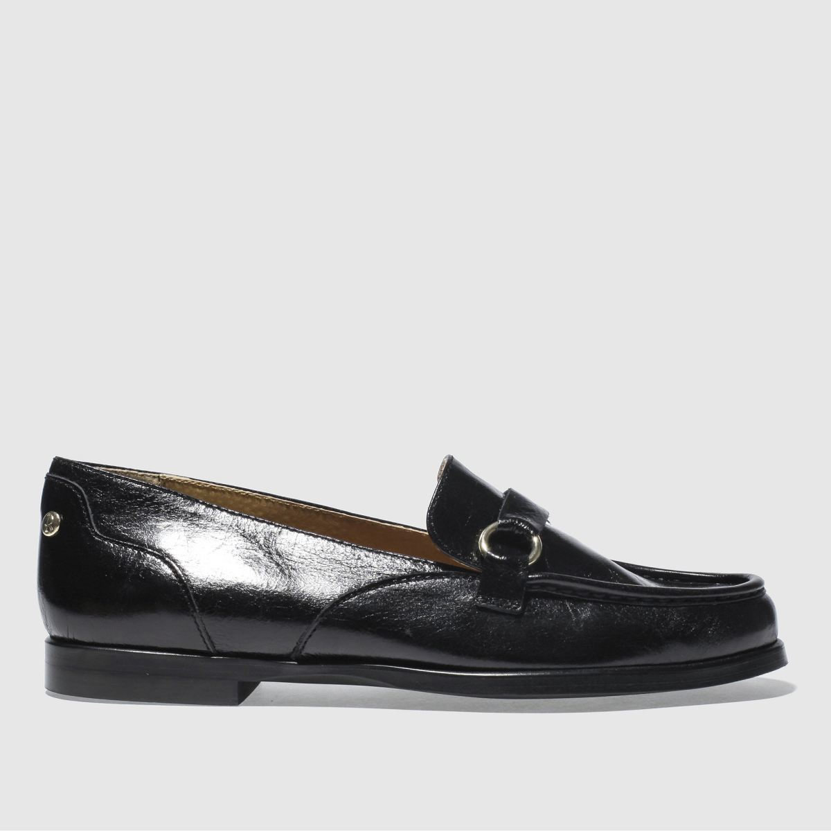 Red Or Dead Black Miss Bakewell Flat Shoes