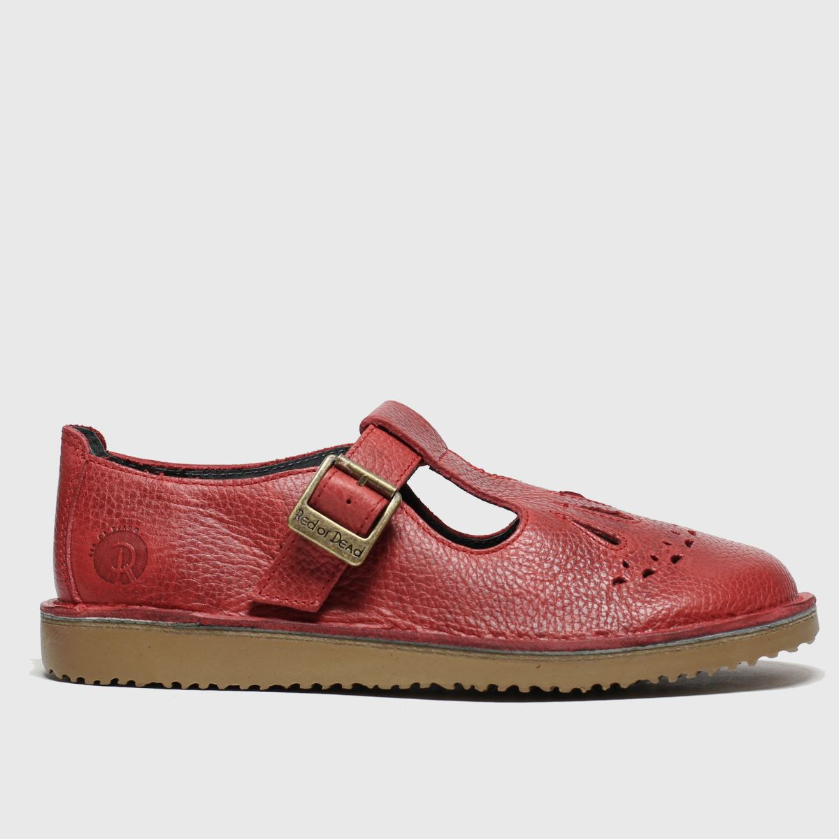Red Or Dead Red Or Dead Red Jade Flat Shoes