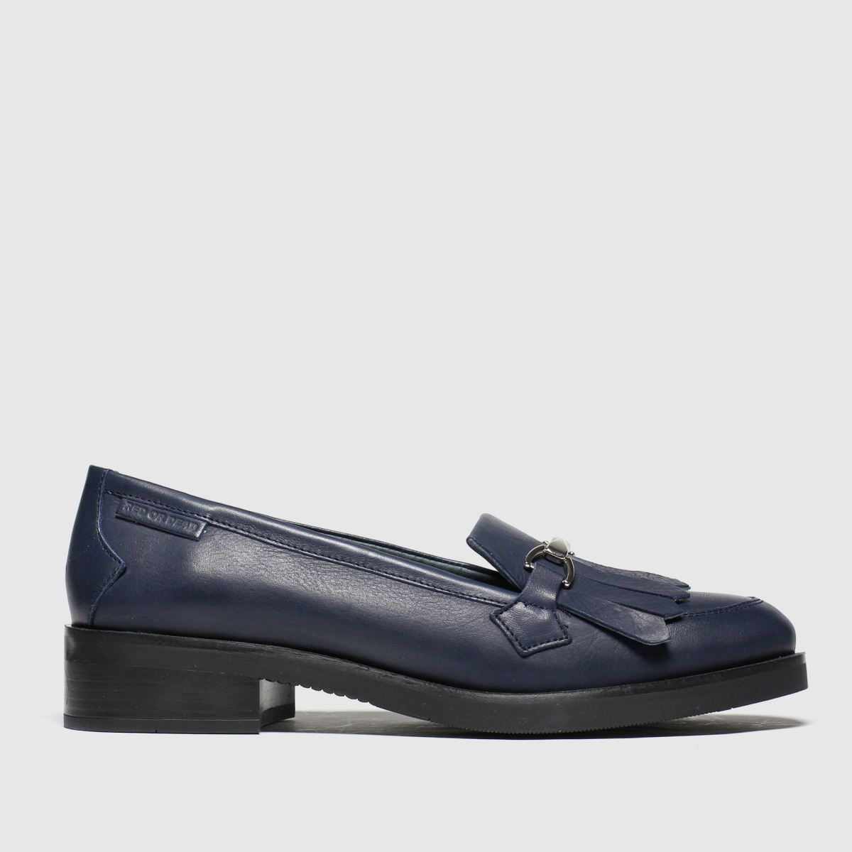 Red Or Dead Red Or Dead Navy Eton Flat Shoes