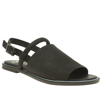Shellys Black Salvant Flats