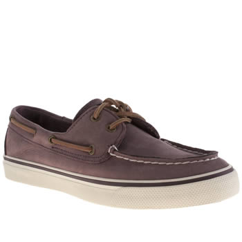 Sperry Purple Bahama Flats