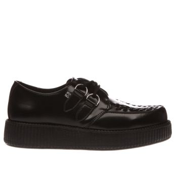 T.U.K Black Viva Lo Sole Creeper Flats