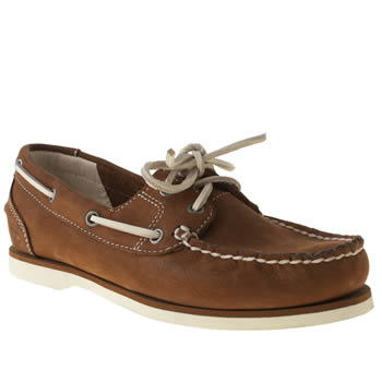 Womens Timberland Brown Earthkeepers Classic Boat Shoe Flats
