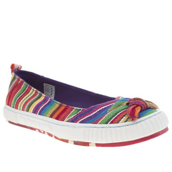 Womens Tigerbear Republik Multi Tease Rainbow Trainers