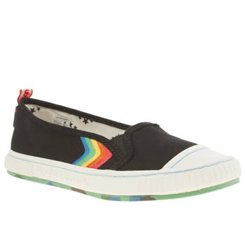 Womens Tigerbear Republik Black & White Tigger Trainers