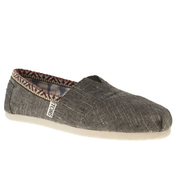 Toms Pale Blue Classic Seasonal Trim Flats