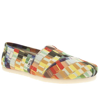 Toms Multi Classic Seasonal Paint Chips Flats