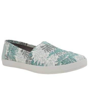 Toms Pale Blue Avalon Womens Flats