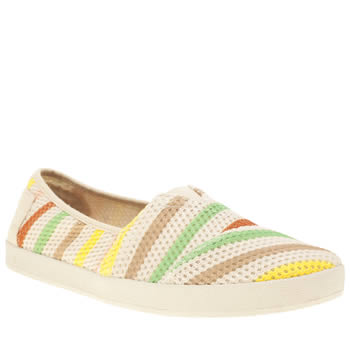 Toms Multi Avalon Mesh Stripe Flats