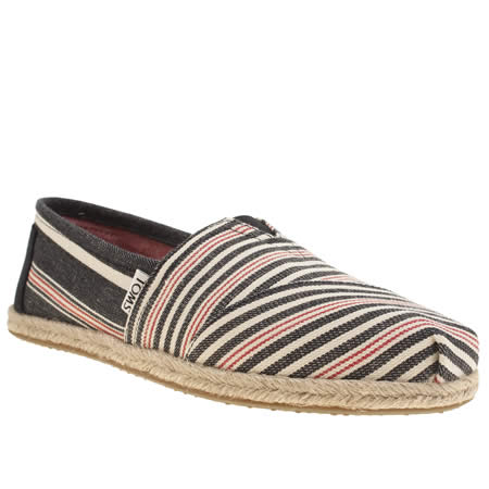 toms classic rope sole stripe 1