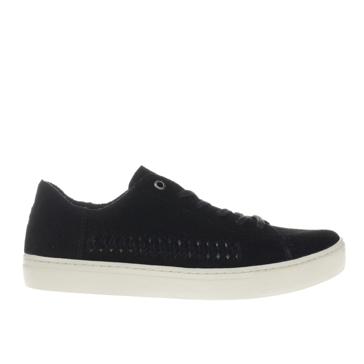 toms black lenox flat shoes