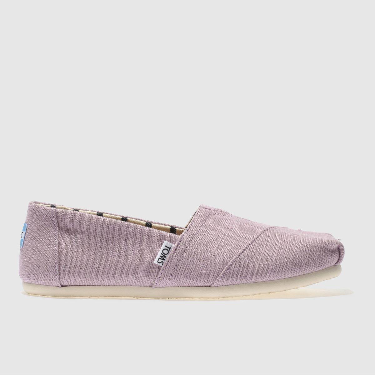 Toms Lilac Alpargata Venice Flat Shoes