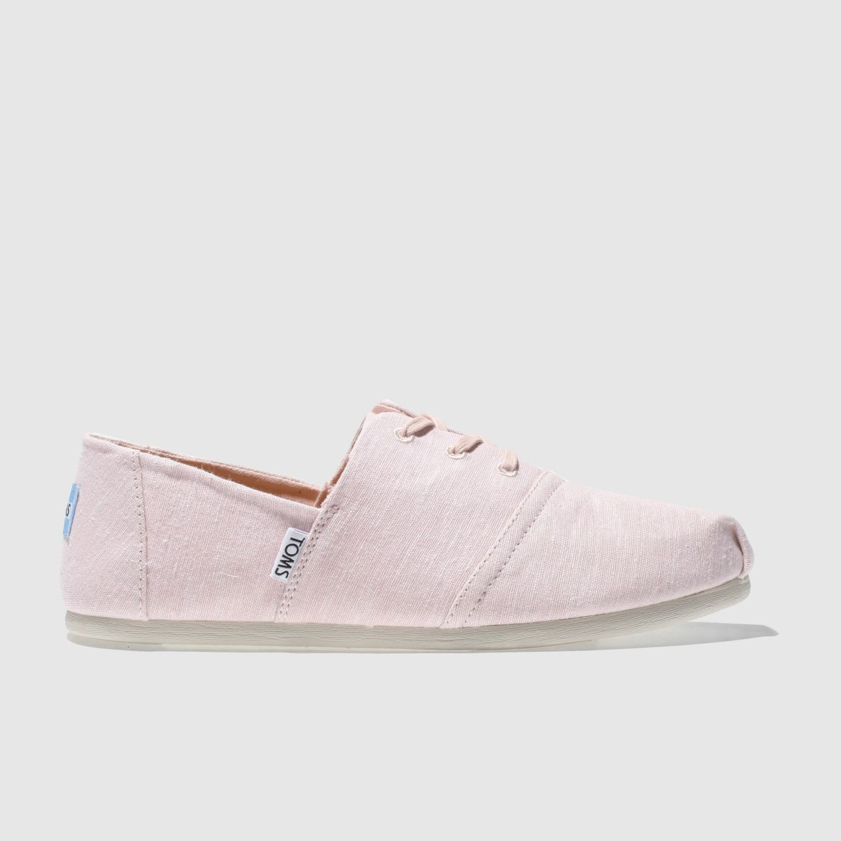 Toms Pale Pink Hermosa Flat Shoes