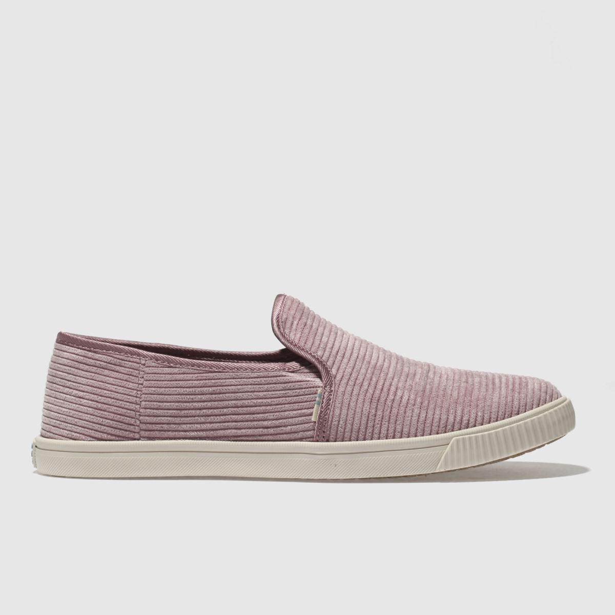 Toms Lilac Clemente Flat Shoes
