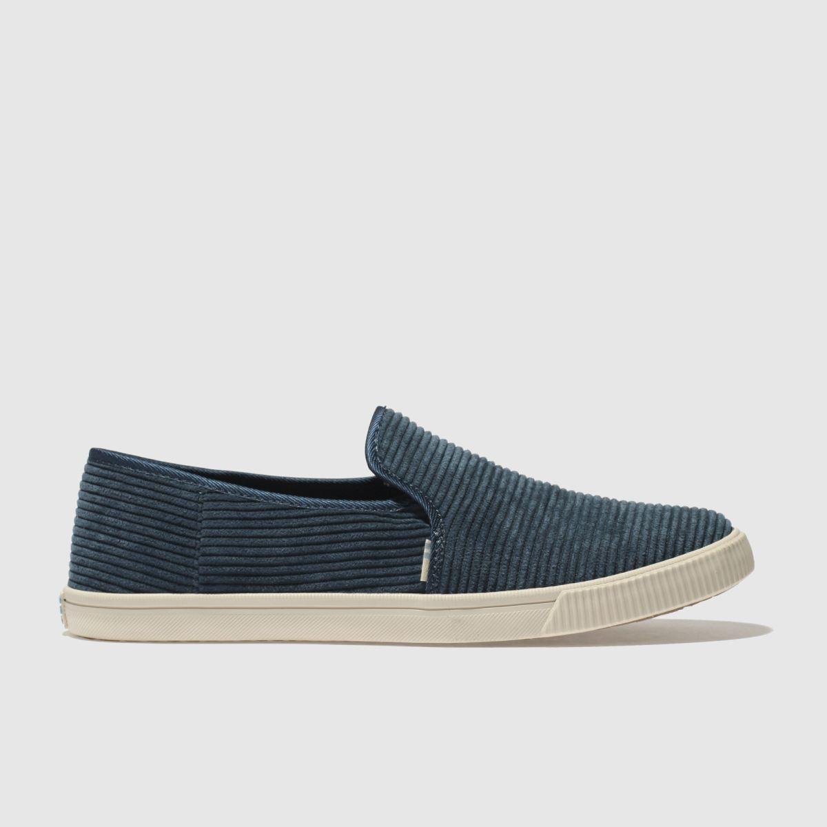 Toms Navy Clemente Flat Shoes