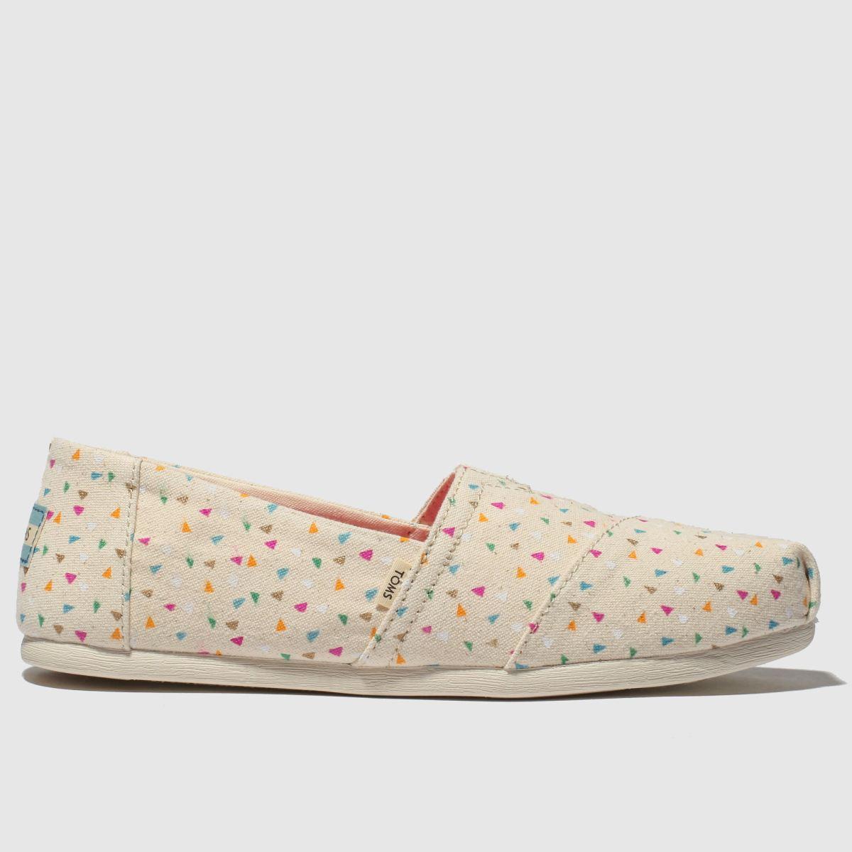 Toms Multi Alpargata Flat Shoes