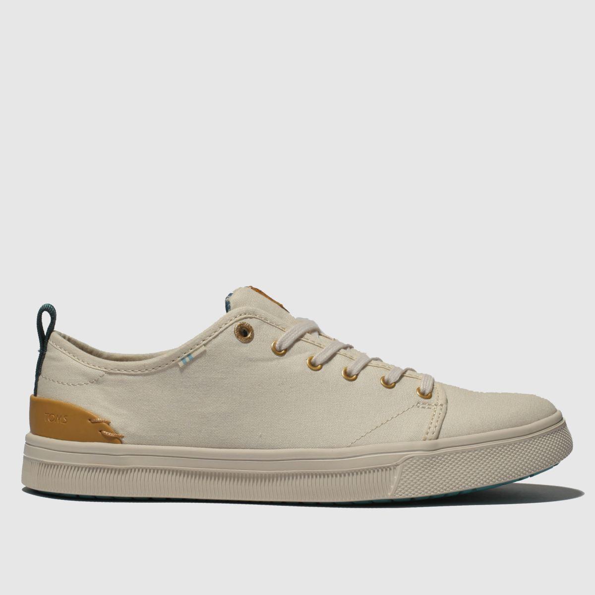 Toms White Trvl Lite Low Flat Shoes