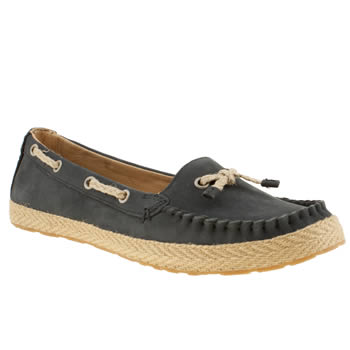 womens ugg australia navy chivon flat shoes
