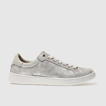 Ugg Silver Milo Stardust Womens Trainers