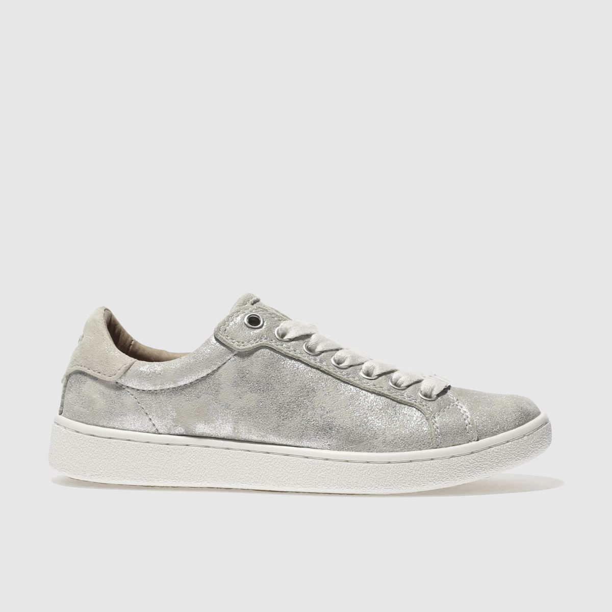 ugg silver milo stardust trainers