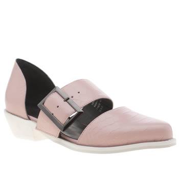 womens pale pink yes kharan flats schuh