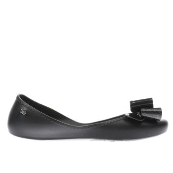 Zaxy Black START ROMANCE II Flats