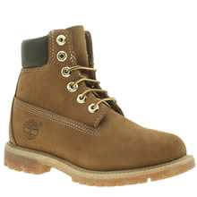 Timberland Brown 6 Inch Premium Womens Boots