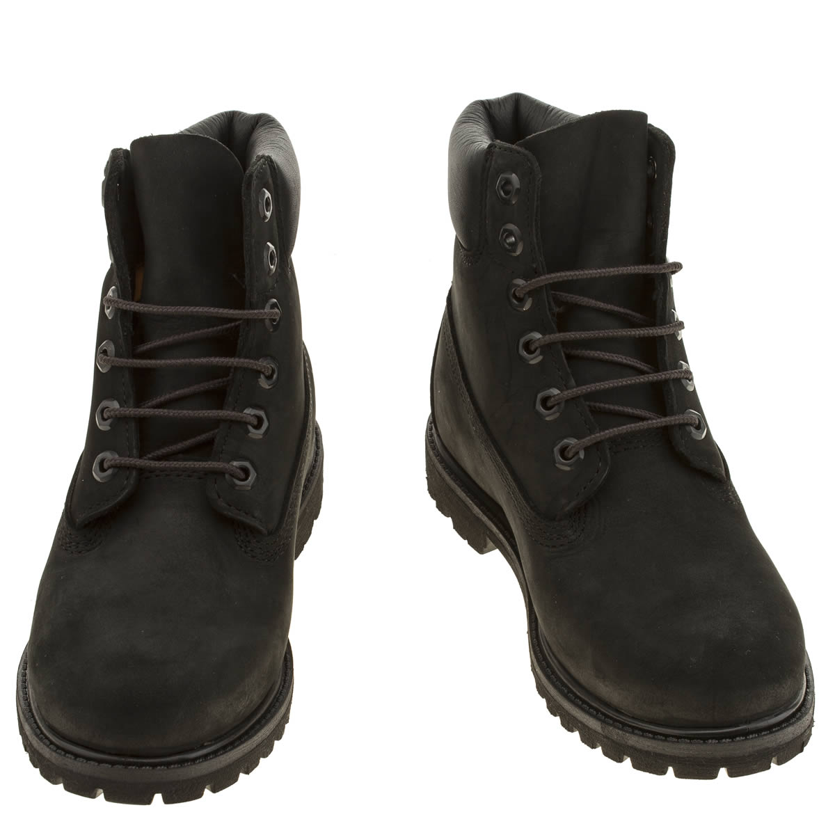 black ladies timberland boots
