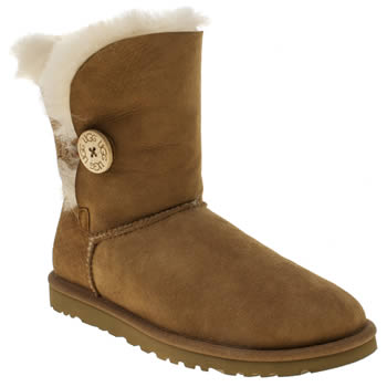 Womens Ugg Australia Tan Bailey Button Boots