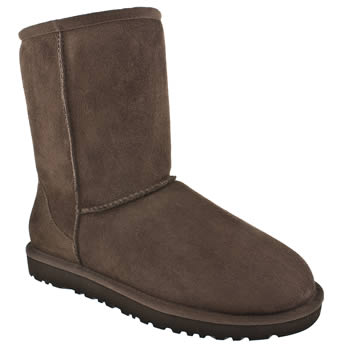 Ugg Australia Chocolate Brown Classic Short Boots