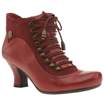womens hush puppies red vivianna boots
