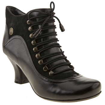 Womens Hush Puppies Black Vivianna Boots