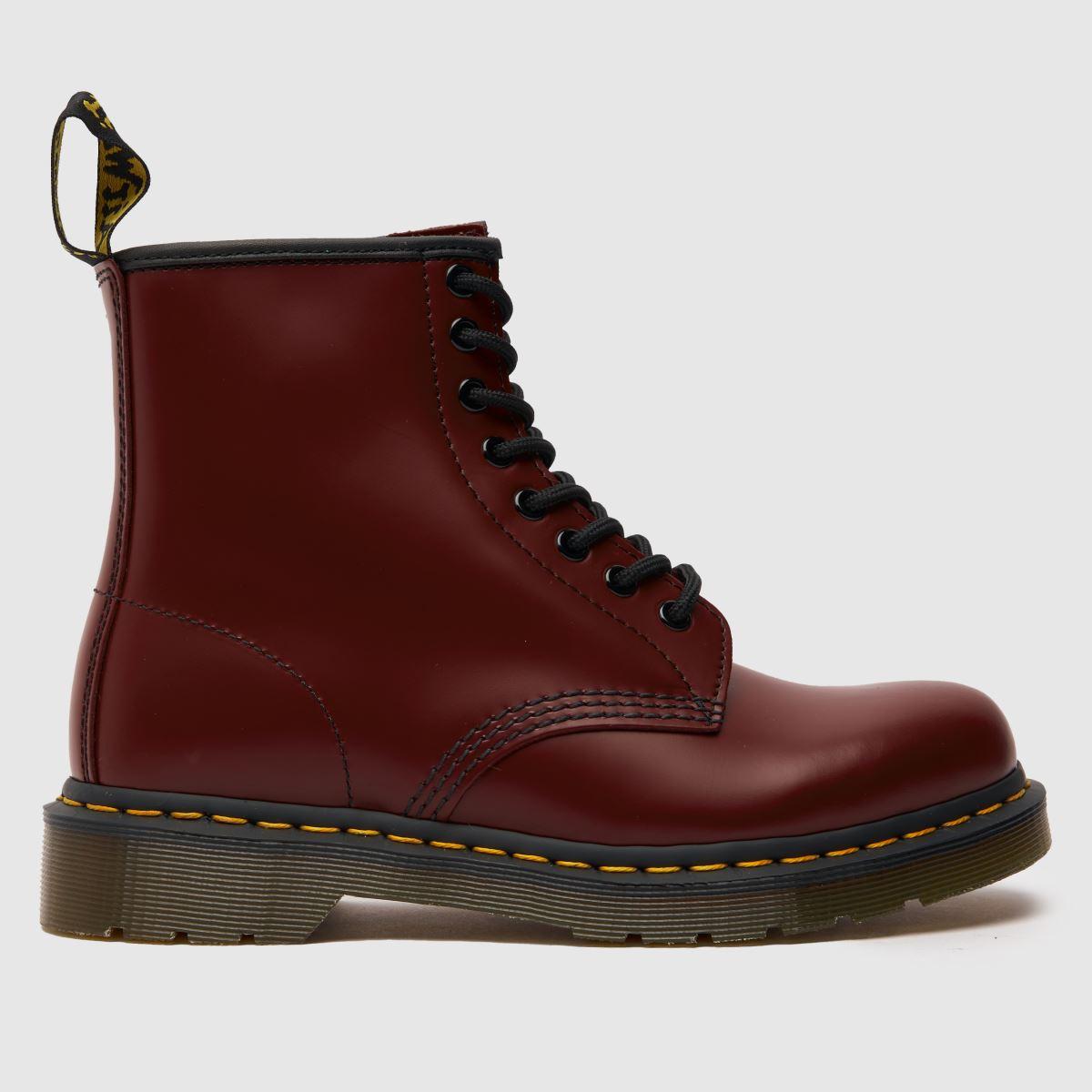 Dr Martens Burgundy 1460 8 Eye Boot Boots