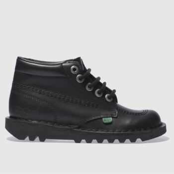 Kickers Black Hi Ii Womens Boots